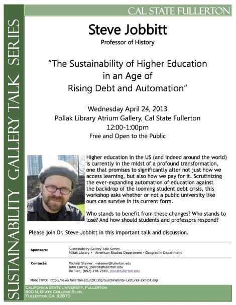sustainability talk